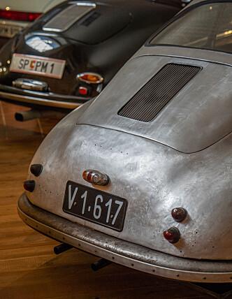 <strong>IKONISK:</strong> Man trenger ikke se mye av bilen for å se hva den er bestefar til. Foto: Paal Kvamme