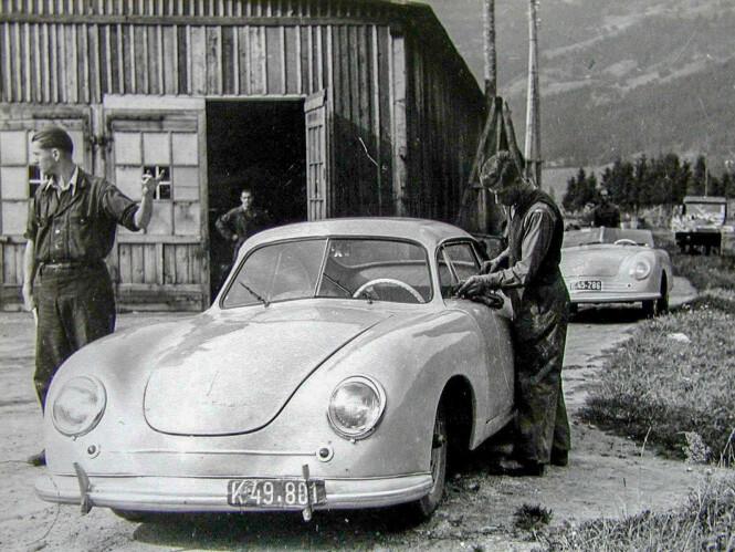<strong>SJELDENT:</strong> Kun 52 stykk 356 i aluminium ble bygget i Østerrike. Foto: Porsche Automuseum Helmut Pfeifhofe