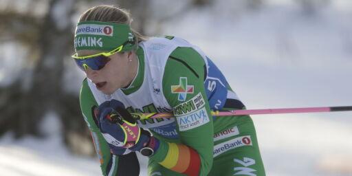 image: Astrid Uhrenholdt Jacobsens modige forsøk ga NM-sølv: - Jeg fikk det litt tungt