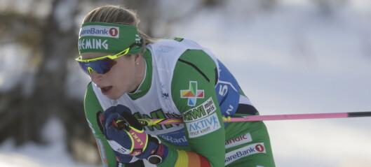 Astrid Uhrenholdt Jacobsens modige forsøk ga NM-sølv: - Jeg fikk det litt tungt