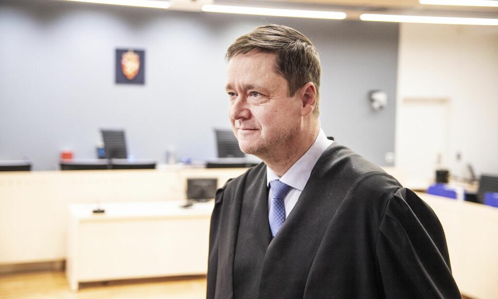 ANKER: Forsvarer John Christian Elden har anket fagdommernes tilsidesettelse av juryens kjennelse til Høyesterett. Foto: Hans Arne Vedlog / Dagbladet