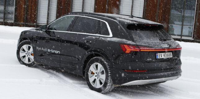 image: Ingen lader raskere enn Audi e-tron