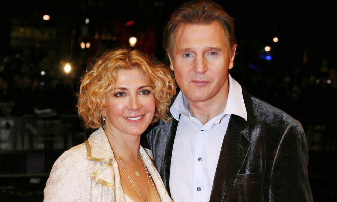<strong>MISTET KONA:</strong> Natasha Richardson og Liam Neeson giftet seg i 1994. Som ektepar fikk de 15 år sammen og to barn, før Richardson døde i 2009. Foto: NTB Scanpix