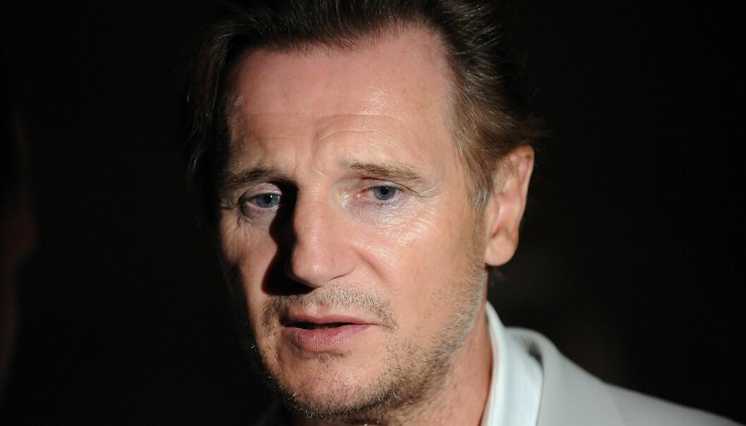 <strong>BRUTALT ÆRLIG:</strong> Skuespiller Liam Neeson (66) angrer dypt på måten han håndterte situasjonen hvor en som sto ham nær ble voldtatt. Foto: NTB Scanpix