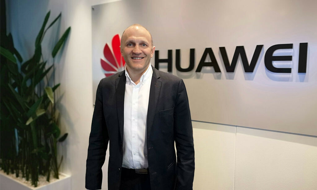 SIKKERHETSDIREKTØR: Tore Larsen Ordreløkken i Huawei. Foto: Huawei