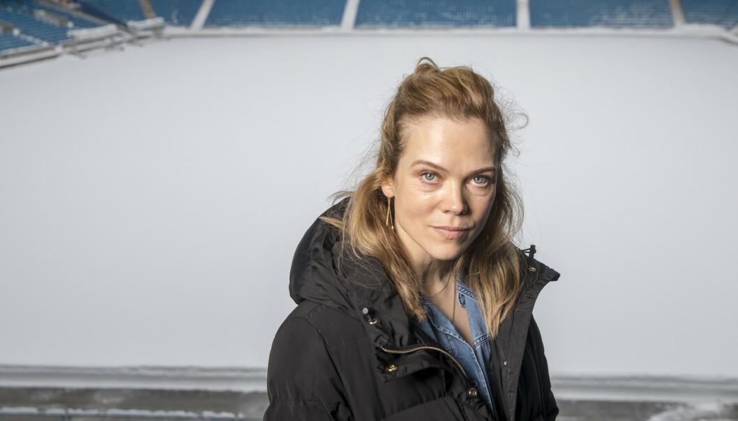 SETTER DAGSORDEN: - Jeg synes det er stas å være en del av noe som ikke bare er underholdning, sier Heimebane-skuespiller Ane Dahl Torp til KK. FOTO: NTB Scanpix