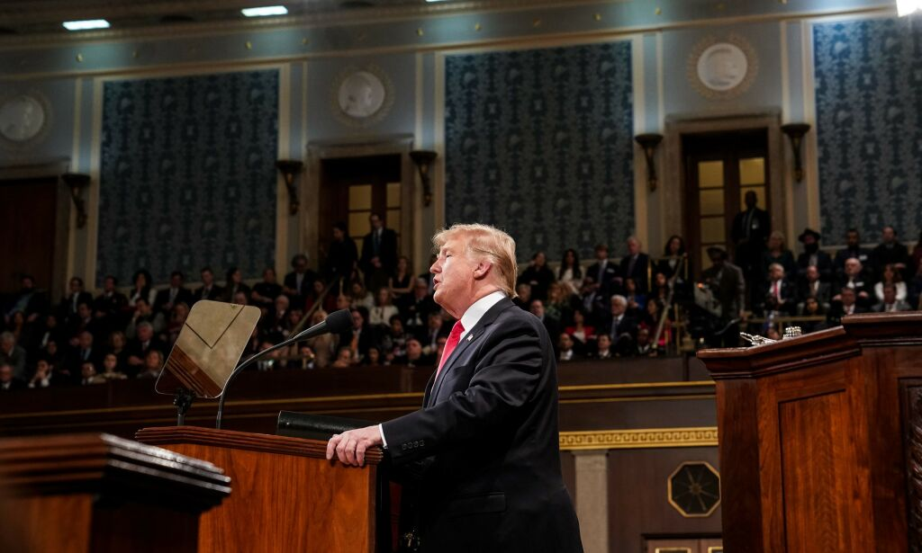 image: Mørke løgner fra stridslysten Trump