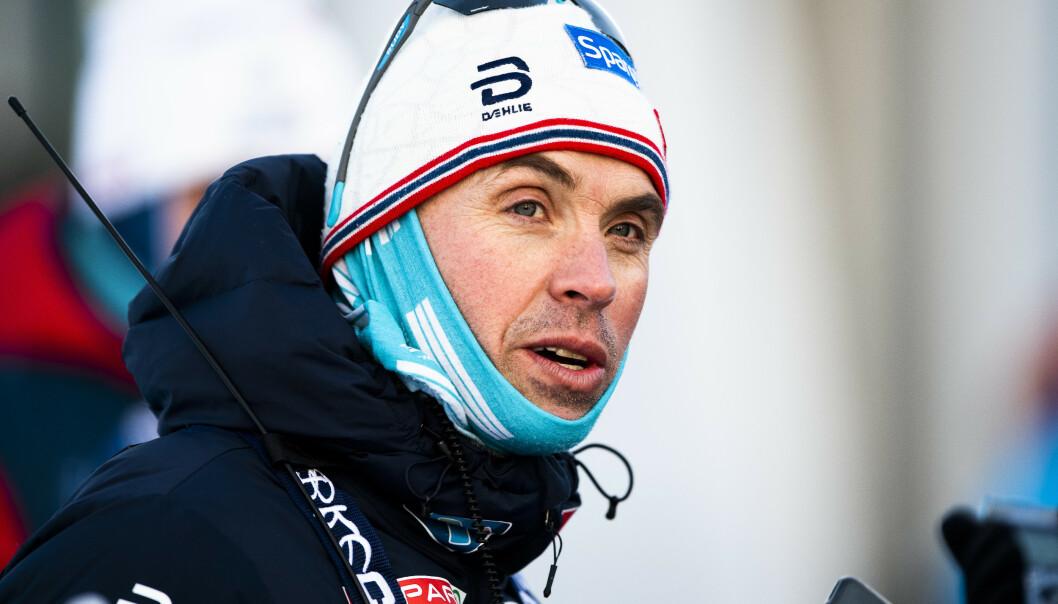 Vidar Løfshus slutter som landslagssjef i langrenn etter sesongen. Foto: Ole Martin Wold / NTB scanpix