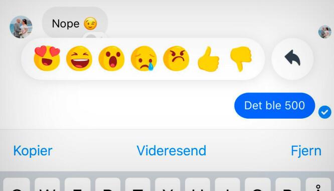 Nå kan du slette Messenger-meldinger du har sendt