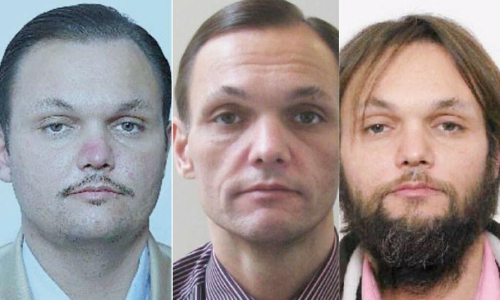 UGJENKJENNELIG: Politiet har tidligere gått ut med disse bildene av Helge Moan. Han var nærmest ikke til å kjenne igjen fra bildene i retten i dag. Foto: Politiet
