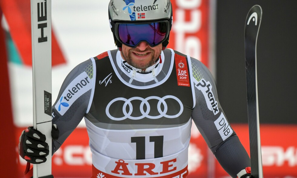 TUNG DAG: Aksel Lund Svindal fant ikke godfølelsen i Åre. Foto: AFP / NTB Scanpix