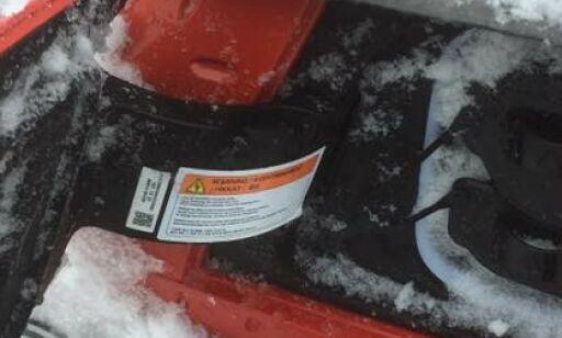image: Nedsnødde og fast-isede ladeluker