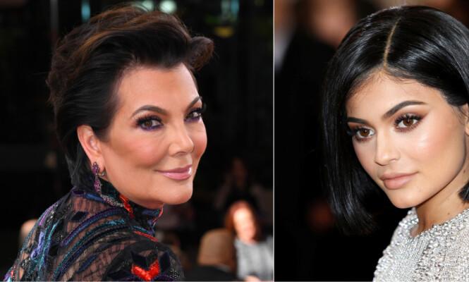 Unikt innblikk hjemme hos Kris og Kylie Jenner