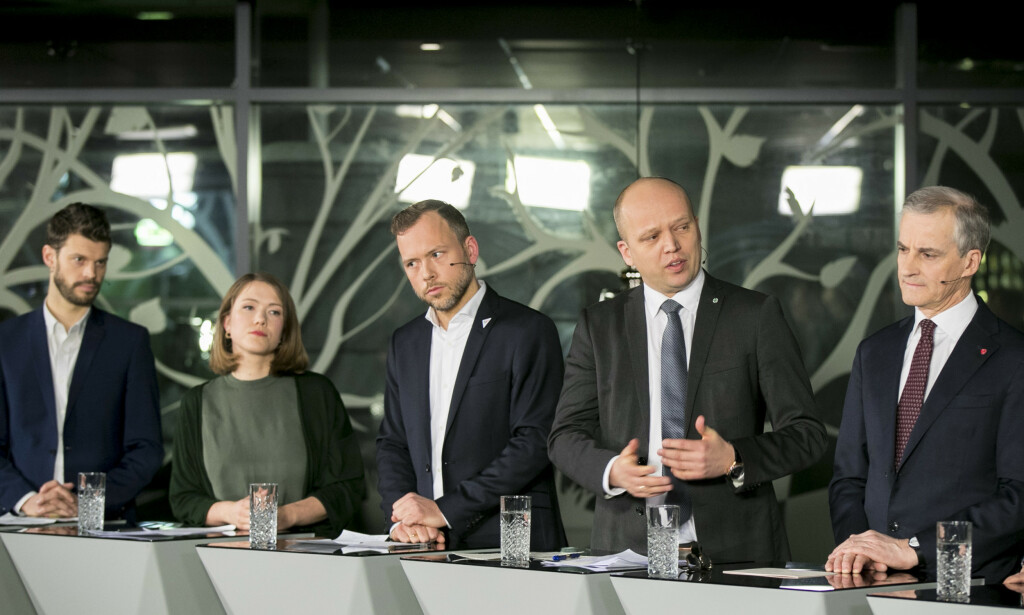 SPLITTET: NHO har skremt høyresiden og Senterpartiet til å stemme mot SV og Ap sitt forslag om pensjon fra første krone, fordi det vil koste penger. Foto: Vidar Ruud / NTB scanpix