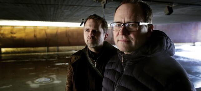 KRITISK: Mammon-skaper Gjermund Stenberg Eriksen (til høyre) i 2016. Her med broren og medskaper, Vegard Stenberg Eriksen, som ikke uttaler seg i denne saken. Foto: Henning Lillegård / Dagbladet.