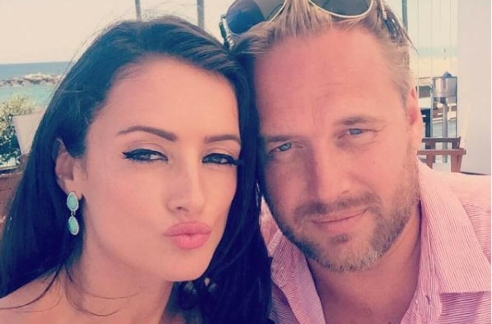 <strong>KJENDIS-PAR:</strong> Thor Kaste Dahl var kjæreste med reality-kjendis Virginia Macari, og deltok i TV-serien «Dublin Wives» i 2012. Foto: Privat