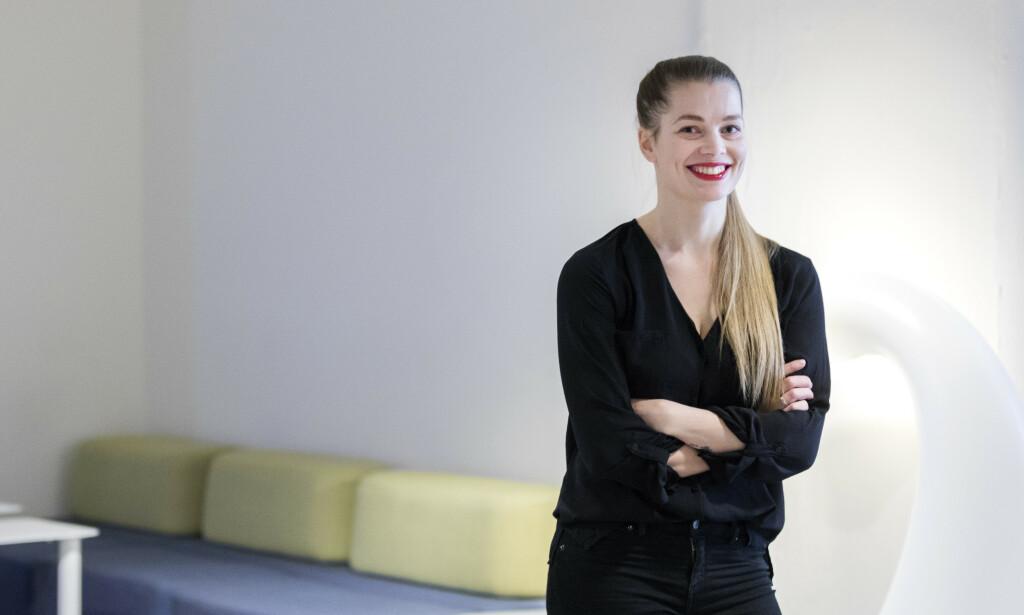 DEBUTANT: «Hotell Montebello» ER Rebecca Wexelsens (1986) debutroman. Hun har bakgrunn fra språk- og litteraturstudier og jobber til daglig som tekstforfatter. Wexelsen er debutant.Foto: Gorm Kallestad / NTB Scanpix