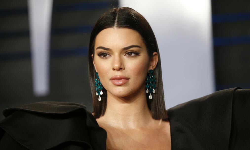 <strong>AKNE:</strong> Kendall Jenner (23) sliter med akne, og føler et umenneskelig press fra skjønnhetsbransjen og sosiale medier. Foto: NTB Scanpix