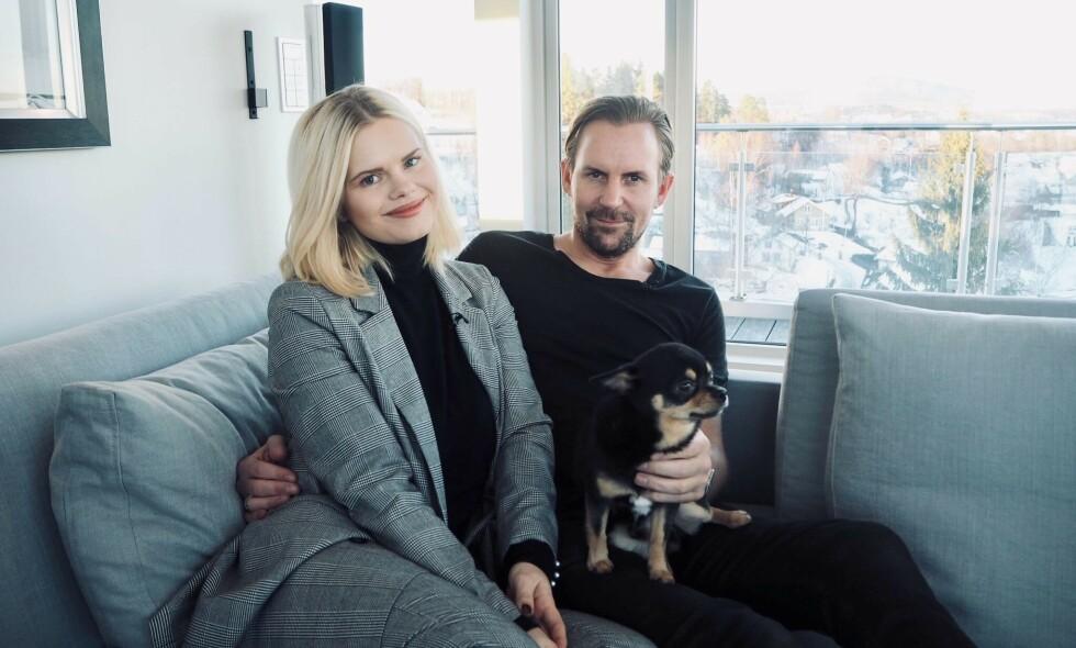DRØMMEHUSET: Julianne og Ulrik Nygård bor idyllisk til på Vollen utenfor Oslo. Da Se og Hør nylig var på besøk avslørte de ønsker om å gi sønnen et søsken. Foto: Henriette Eilertsen
