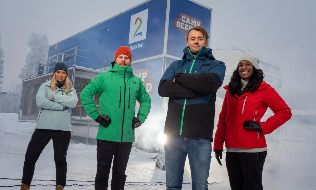 VM: Petter Northug skal dekke ski-VM i Seefeld sammen med Ida Moseng, Marius Skjelbæk og Siri Avlesen-Østli. Foto: Jan-Petter Dahl / TV 2