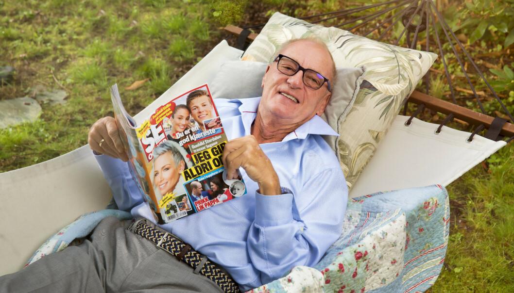 <strong>GIKK BORT:</strong> Knut Haavik er død, 75 år gammel. Foto: Espen Solli/ Se og Hør