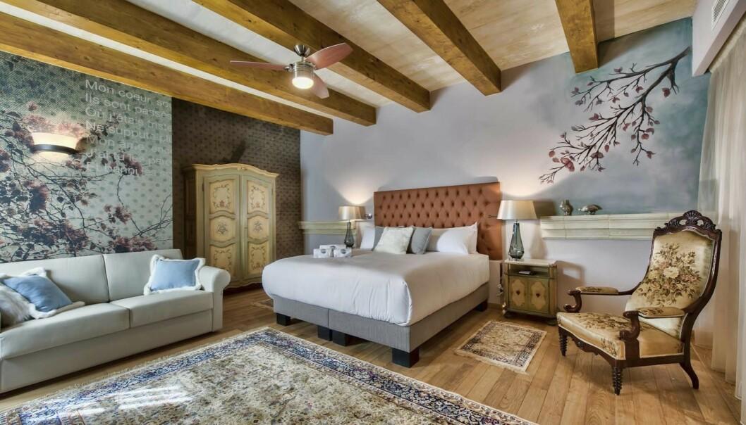 Boutiquehotellet Palazzo Consiglia ligger i en gammel adelsfamilies byhus fylt med stemning.