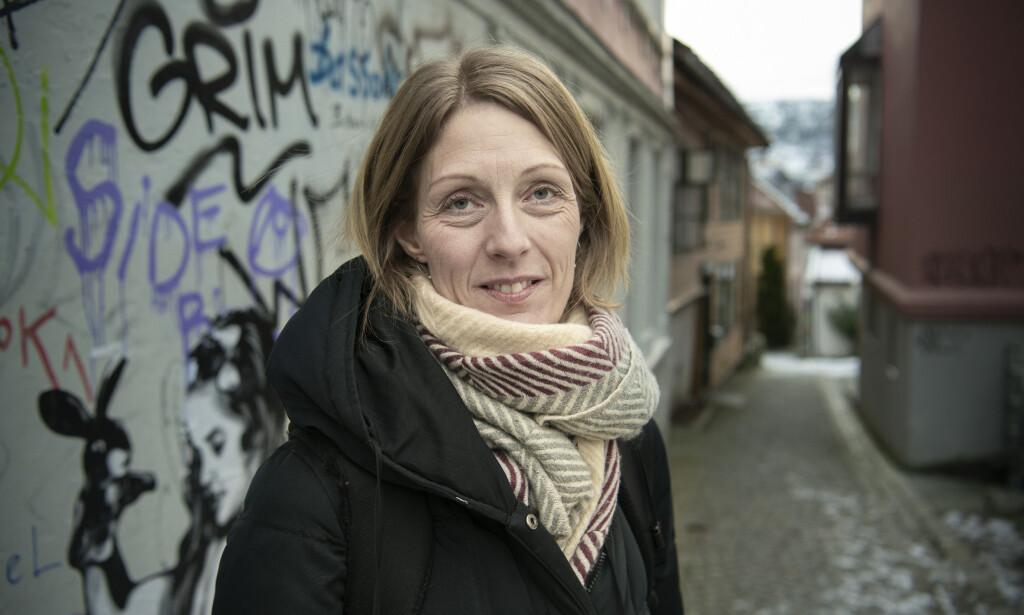REAGERER PÅ NYE FUNN: Monika Alvestad Reime har forsket på barnevern i flere år. Hun mener Bufdirs institusjonsgjennomgang viser at de ansatte må få kompetanse på rus og psykisk helse og bevisstgjøres om forholdet mellom tvang og grensesetting. Foto: Lars Eivind Bones.