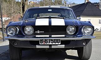 IKON: Mustang Shelby GT 550. Foto: Stein Inge Stølen