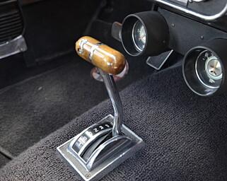 AUTOMAT: Shelbyen har et solid drivverk. Foto: Stein Inge Stølen