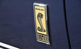 KOBRA: Ingen tvil om hvilken bil det er snakk om. Foto: Stein Inge Stølen