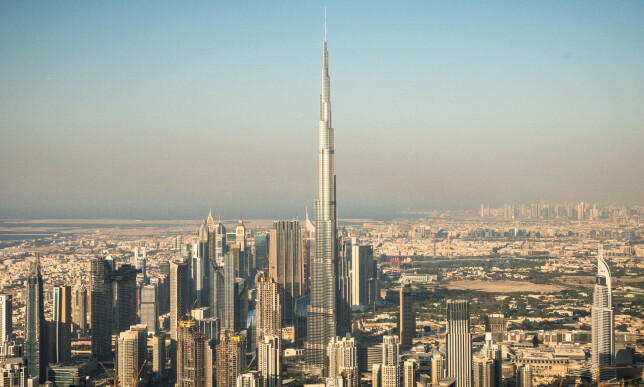 The pair of luxury apartments, according to data leaks, and a broker selling for $ 9.3 million in Dubai, was in Burj Khalifa's tallest building in the world. Photo: Øistein Norum Monsen / Dagbladet