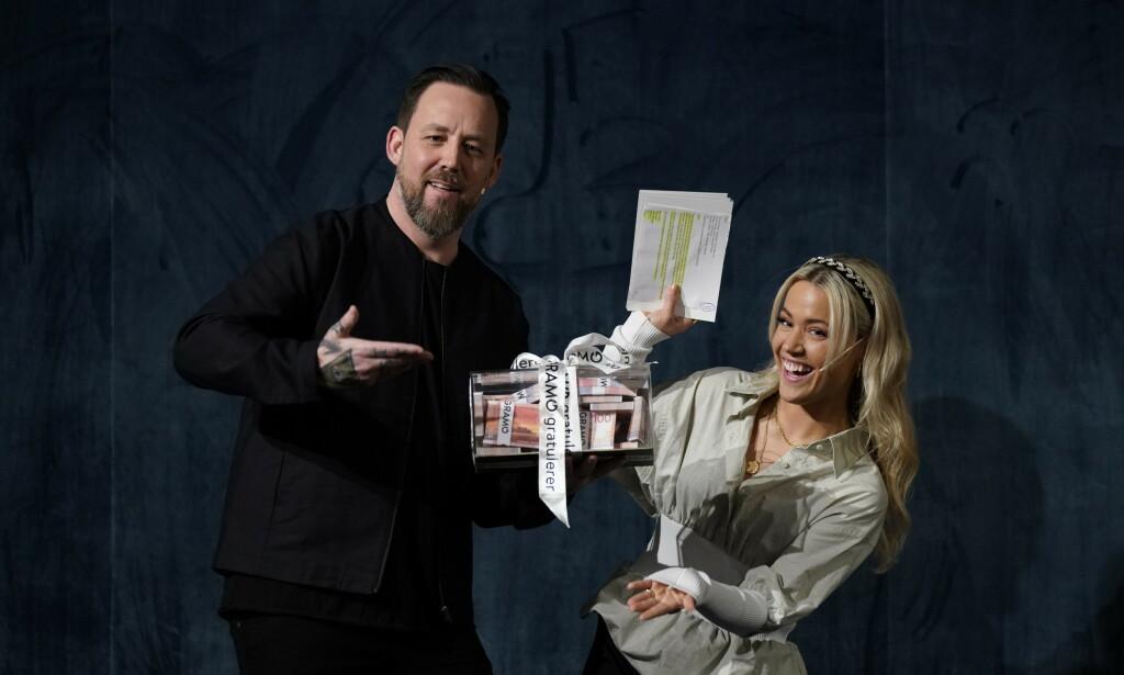 PROGRAMLEDERE: Det er Terje Strøm og Julie Bergan som skal lede årets Spellemann-show fra Chateau Neuf i Oslo. Foto: Foto:John T. Pedersen