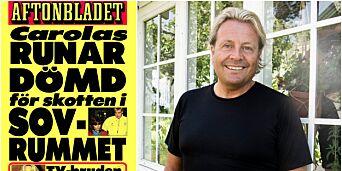 image: Slik ble Runar Søgaard en av Sveriges mest kontroversielle kjendiser