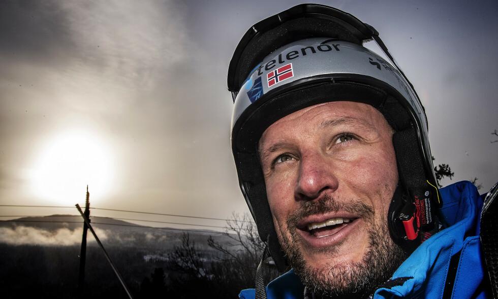 NERVØS: Aksel Lund Svindal innrømmer at han kjenner presset ekstra godt før hans siste renn i karrieren. Foto: Hans Arne Vedlog / Dagbladet