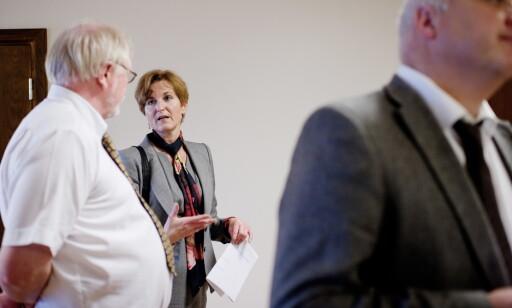 BISTANDSADVOKAT: Marie Helene Earl Haugland bistår den fornærmede kvinnen. Foto: Tommy Ellingsen / Scanpix