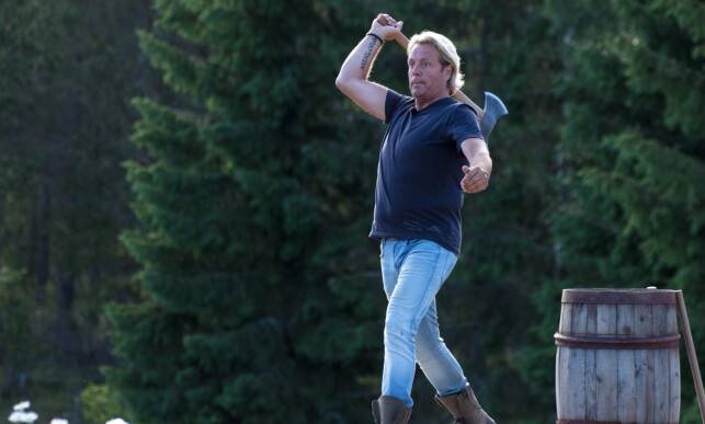 BOMMET: Runar Søgaard sørget for å levere et dårlig resultat under søndagens tvekamp. Foto: Alex Iversen / TV 2