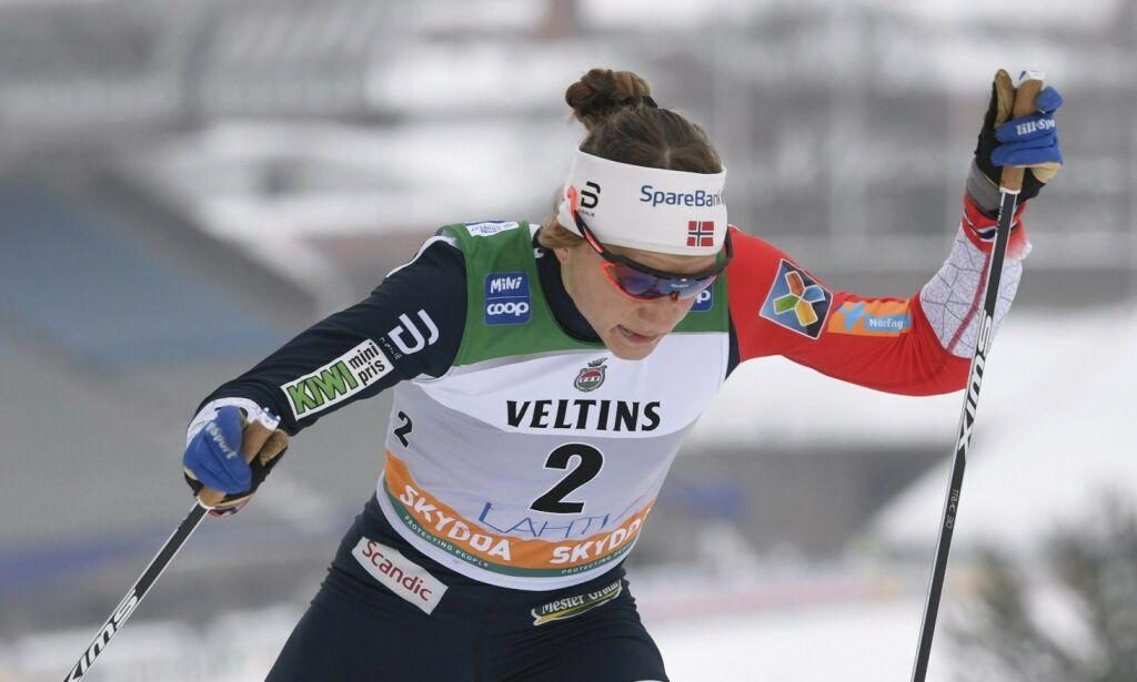 image: Falla viste VM-form: Sprintseier i Lahti