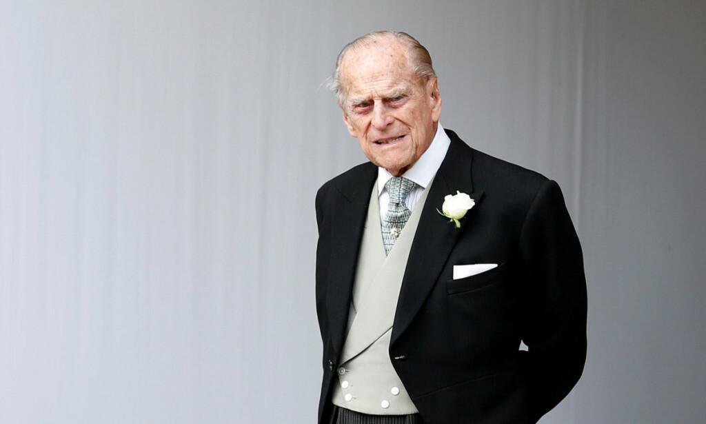 INGEN FLERE BILTURER: Britenes prins Philip har gitt avkall på førerkortet sitt. Det skjer etter at han forrige måned krasjet inn i en annen bil. Foto: NTB Scanpix