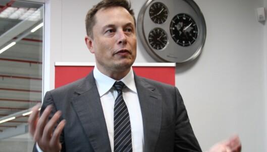 Derfor var Elon Musk i Oslo