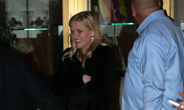 KLAR FOR FEST: Reese Witherspoon (42). Foto: NTB Scanpix