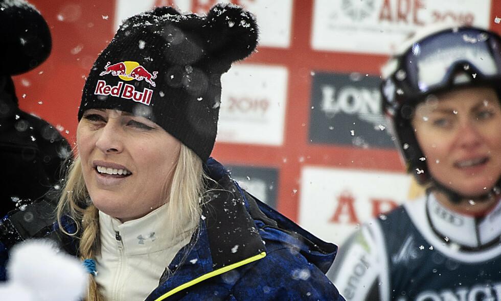 TØFF TID: Lindsey Vonn husker godt de tøffe treningsøktene som var med å forme henne som alpinist. Foto: Hans Arne Vedlog
