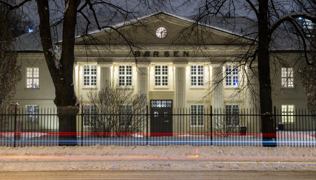 <strong>VIRUS-FRYKT:</strong> Den samlede verdien av aksjene på Oslo Børs stupte med svimlende 110 milliarder kroner mandag. Foto: Håkon Mosvold Larsen / NTB scanpix