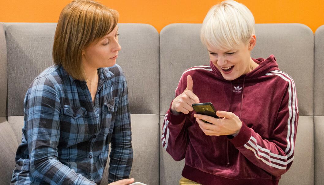 <strong>ANDRE VEIEN:</strong> Sist så vi på hvilke iPhone-funksjoner Android-brukere ønsket seg. Nå går vi andre veien. Foto: Pål Joakim Pollen