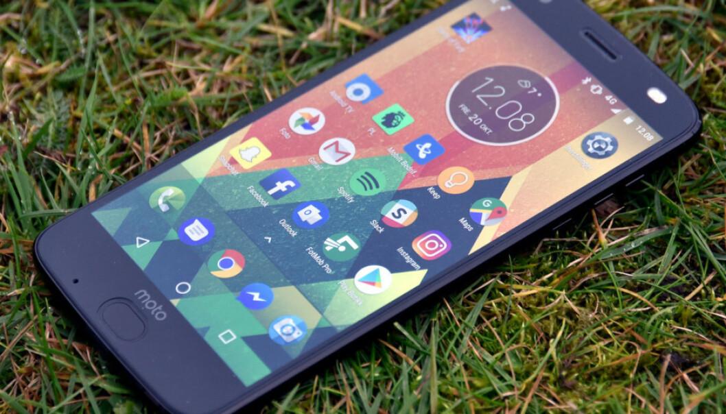 <strong>FLEKSIBELT:</strong> På Android kan du tilpasse ikonene på hjemskjermen som du vil. Foto: Pål Joakim Pollen