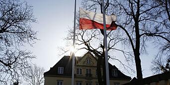 image: Full diplomatkrangel mellom Norge og Polen
