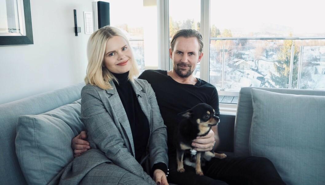 <strong>DRØMMEHUSET:</strong> Julianne og Ulrik Nygård bor idyllisk til på Vollen utenfor Oslo. Da Se og Hør nylig var på besøk avslørte de ønsker om å gi sønnen et søsken. Foto: Henriette Eilertsen