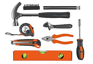 ALT DU TRENGER: Basisverktøy til enhver situasjon.