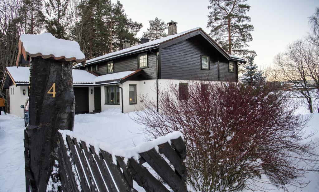 Except for October: Anne-Elizabeth Hagen has been absent from her house in Lorenskog since October. Photo: Lars Eibind Bones / Dagbladet