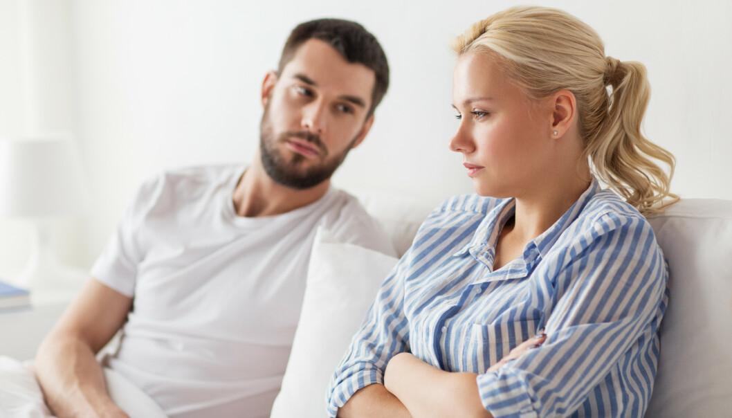 <strong>VIL IKKE HA SEX:</strong> Det kan være flere årsaker til at du ikke har lyst på sex. FOTO: NTB Scanpix
