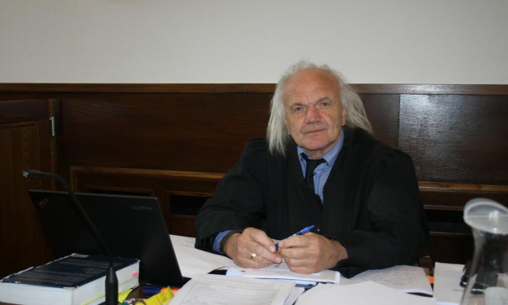 FOSVARER: Harald Otterstad er den tiltalte mannens forsvarer. Foto: Angelica Hagen / Dagbladet
